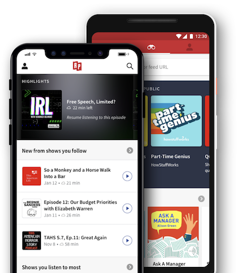 RadioPublic for Android and iOS